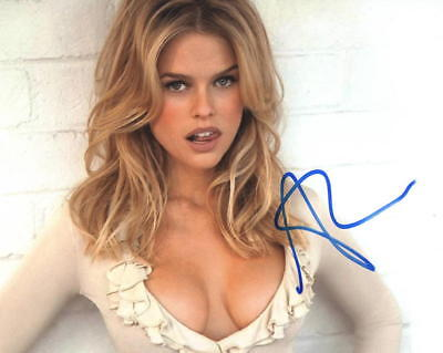 Hot Sexy Alice Eve Signed 8X10 Photo Authentic Autograph Star Trek Coa E