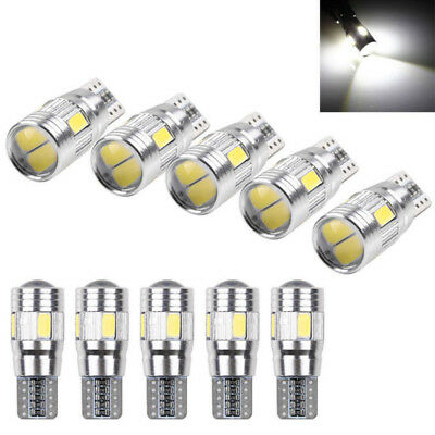 2*T10 501 194 W5W 5630 LED SMD Car HID Canbus Error Free Wedge Bulb Lamp Lights