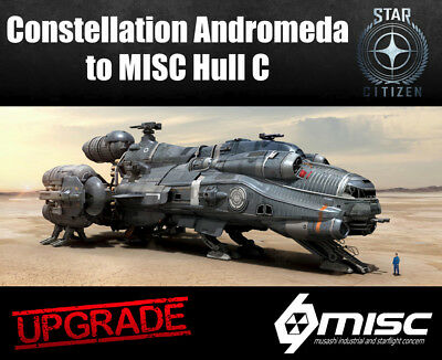 Star Citizen CCU Ship Upgrade - Constellation Andromeda to MISC Hull C