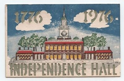 Hold To Light Card......Independence Hall.....1776-1976