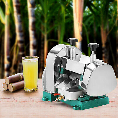 Sugarcane Juicer Sugar Cane Grind Press Machine Cast Iron Squeezer Handwheel