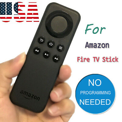 Remote Control CV98LM Bluetooth Clicker for Amazon Fire Stick Fire TV Player