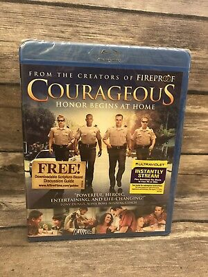 Courageous (Blu-ray Disc, 2012) from the creators of Fireproof NEW Sealed