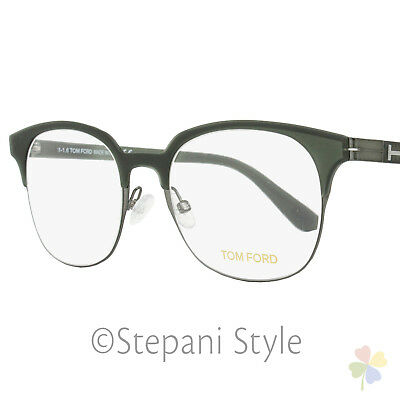 f9723c5df9d TOM FORD OVAL Eyeglasses TF5381 093 Size  54mm Olive Green Ruthenium ...
