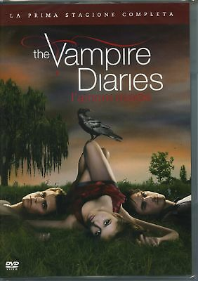 |5051891069817| The Vampire Diaries Stg.1 L'Amore Morde (Box 5 Dvd)  [DVD x 5]