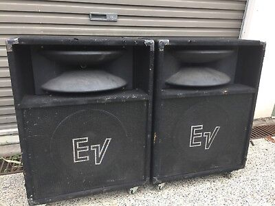 Electro Voice SH 1512ER PA Speakers. $350 The pair.