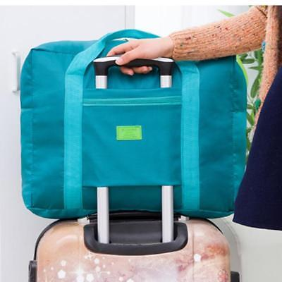 Foldable Suitcase Large Travel Bag Luggage Carry-On Clothes Storage Organizer SW