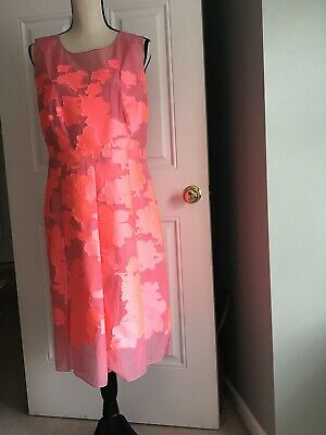 c24d978dc93e Elie Tahari Jessy Pleat dress size 12 NWT in Neon Orchid Price Drop!
