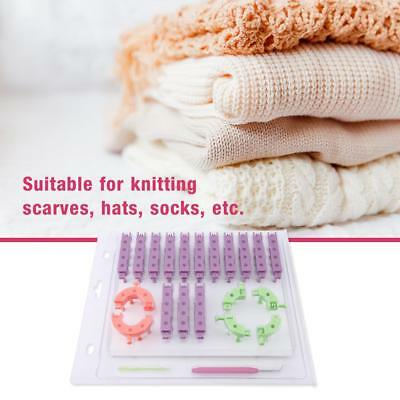 ... Crochet; 1 Set Multicolor Knitting Loom Kit DIY Handmade Craft Tool for Hat Scarf Making super cheap ...
