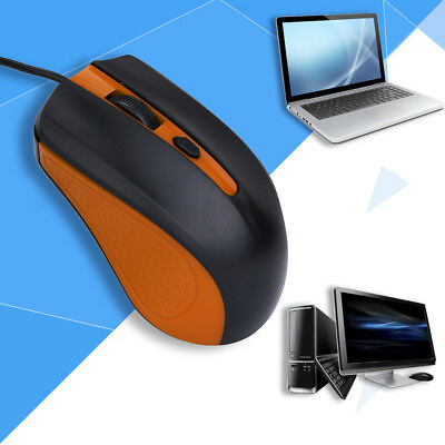 Optical USB 2.0 Wired Gaming Mouse For PC Laptop Computer Scroll Wheel Mice