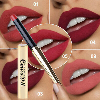 Long Lasting Lipstick Velvet Matte Lip Gloss Pencil Women Beauty Makeup Cosmetic