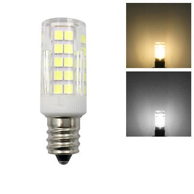 1/10pcs E12 Candelabra C7 LED Light bulb 6W 64-2835SMD Ceramics Lamp 110V 220V