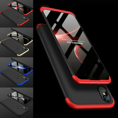 360° Full Body Case Slim Cover+Tempered Glass for Huawei P20/Lite /Mate 20/Pro
