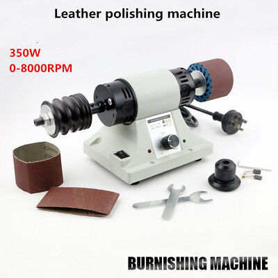 Leather edge Grinding machine Leather Polishing Burnishing machine 8000RPM 110V
