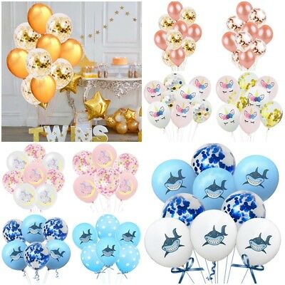 10PC Set Wedding Birthday Balloons Latex Ballons Kids Boy Girl Baby Party Decor
