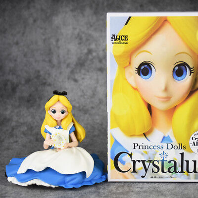 Disney Characters Crystalux Alice in Wonderland Alice PVC Figure New No Box