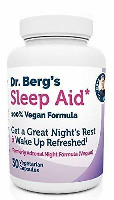 Dr. Berg Product Sleep Aid Vegan Formula All Natural Support for Normal Sleep