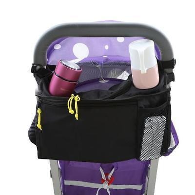Kids Baby Stroller Pram Organiser Tray Hanging Bag/Cup Holder Accessory SW