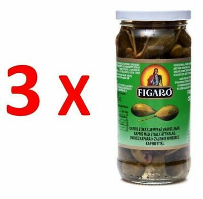 3X Figaro Caper Berries in Vinegar 240g