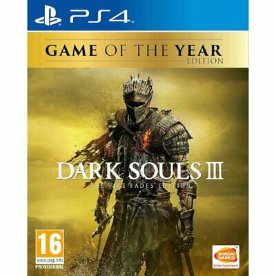 Dark Souls III: The Fire Fades Edition (English/Chi Ver) for PS4 Playstation 4