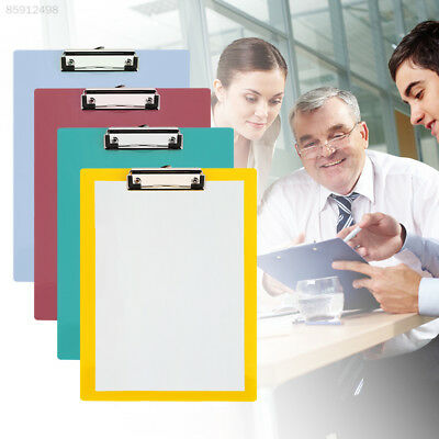 5174 Paper Clip Board Clip Writing Office Boards Stationery Convenient A4 PP