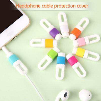 10Pcs Charging Cable Cord Wire Protector Saver For Phone Earphone Cable