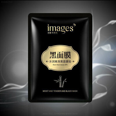 18C0 Women's Smooth Face Black Mask Whitening Cleansing Natural Makeup Patch