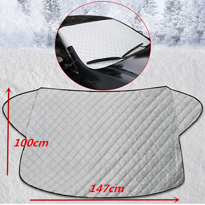 Car Window Screen Windscreen Cover Magnetic Frost Ice Large Snow Dust Protector