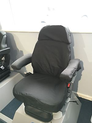 Grammer Maximo Dynamic Plus Seat Cover Black TAILORED/WATERPROOF