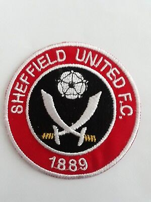 "Sheffield United FC 3"" Embroidered patch Badge Badges Football Club Patches"