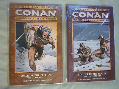 The Chronicles of Conan Volume 1,2 Thomas Smith Dark Horse