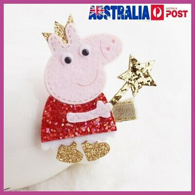 Peppa Pig Girls Hair Clips Hairpins Hair Accessories For Kids Baby Girls