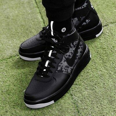 low priced 04a99 5f6ce NIKE AIR FORCE 1 ULTRAFORCE MID Sneakers chaussures mi-hautes hommes 864014- 001