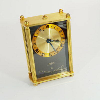 Jaeger Le Coultre Music Clock - 8 Tage Wecker mit Reuge Spieluhr - very nice!