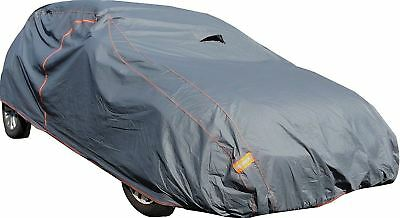 UKB4C Premium Fully Waterproof Cotton Lined Car Cover fits Volkswagen VW Golf