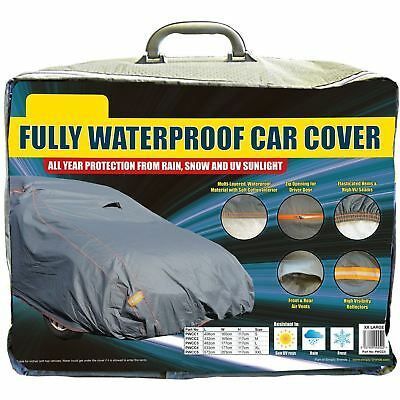 Premium Fully Waterproof Cotton Lined Car Cover fits Toyota Auris Touring Sports