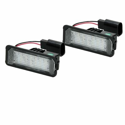2x LED Kennzeichenbeleuchtung VW Golf 5 6 7 Passat Beetle Polo 9N UP Scirocco