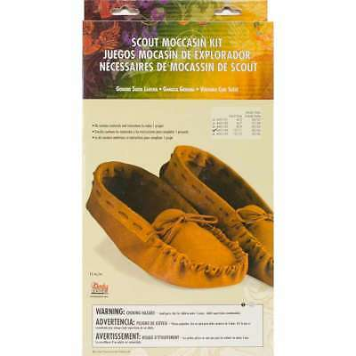 Leathercraft Kit Scout Moccasin - Adult Size 10/11 098834460909