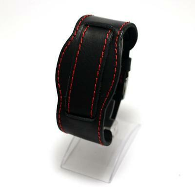Watch Strap M18 Genuine Thick Leather Vintage Classic Buckle Wrist Retro New