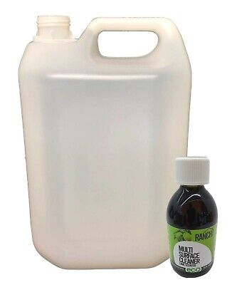 Ranch Sanitiser Disinfectant - 250ml eco + 5l empty container - Lime