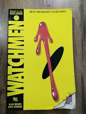 Watchmen, by Alan Moore (graphic novel, illustrated by Dave Gibbons)
