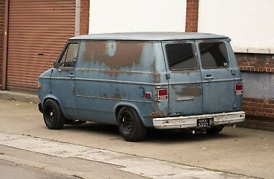 1979 Chevy G10 Creeper Van - Retro Mod LT1 V8 with Texas Patina - Chevrolet