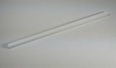 "Macor 3/8"" Square x 12"" Long Machinable Glass Ceramic Bar"