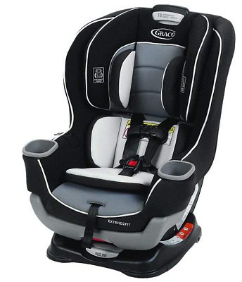 Graco Extend2Fit Convertible Car Seat, Gotham, Safety Booster NEW