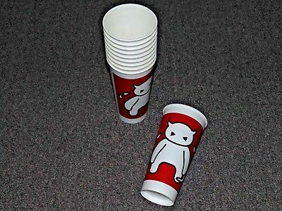 Radiohead WASTE UK PAPER CUPS