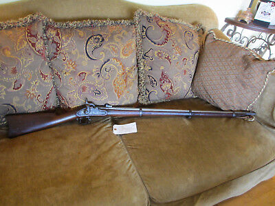 CIVIL WAR RELIC WALL HANGER  MODEL 1863 TYPE ll U.S. SPRINGFIELD .58 CAL. MUSKET