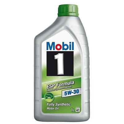 4 Litri Olio Mobil 1 Esp 5W30 4 Lt Synthese Technology Longlife 100% Originale