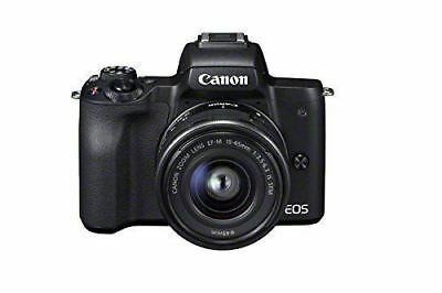 Canon EOS M50 Compact System Camera and EF-M 15-45 mm f/3.5-6.3 IS STM Lens  NEW