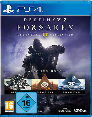 PS4 Destiny 2 Forsaken Legendary Collection NEU&OVP Playstation 4