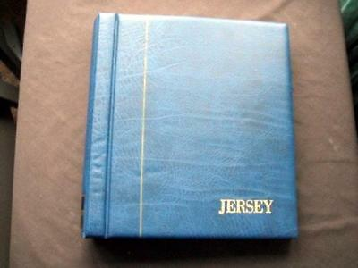 14116aj JERSEY UP TO c1994 MINT STAMPS & MINI SHEETS COLLECTION IN KABE ALBUM